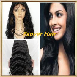 $enCountryForm.capitalKeyWord Canada - FREE shipping 1#,1b,2#,4# and Natural Color 8A Grade Peruvian Virgin Hair Body Wave Full Lace wig with baby hair 130% density