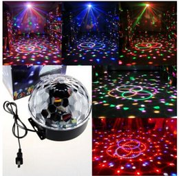 dj stage color changing ball NZ - Effect Light Stage Lighting For D19 18W LED RGB DJ Club Disco Party Crystal Magic Ball Lampfair