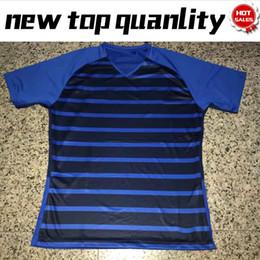 cbb23b7ef 2018 world cup POGBA home Soccer Jersey 7 GRIEZMANN blue Soccer Shirt 2018  world cup  15 POGBA Customized football Uniform Sales cheap blue home soccer  ...