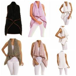 fashion winter vest woman 2019 - women winter Sherpa Jacket Fashion Vest Autumn Winter Warm Hoodie Outwear Casual Coat winter warm jacket LJJK830 cheap f