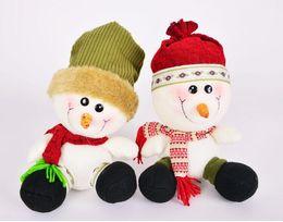$enCountryForm.capitalKeyWord NZ - Christmas Snowman Doll Christmas Tabletop Decoration Home Party Santa Claus New Year Home Party Decor Gift