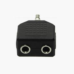 $enCountryForm.capitalKeyWord NZ - Couple Earphone Adapter Aux 3.5mm Stereo Audio Jack 2 Way Y Splitter Plug Two Headphones Cable Headphone Adaptor Audio Extension