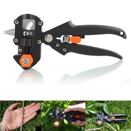 Bypass Shears Canada - Quality Pro Garden Tree Professional Pruning Shears Grafting Cutting Household Tool With 2 Blades Hot