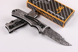excellent quality knife 2019 - Tactical hiking knives Brow-ning folding blade 440C 57HRC EDC knife Excellent quality Camping Tactical Tools B331L
