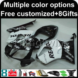 Rc51 Fairing Black Canada - 23colors+8Gifts repsol BLACK motorcycle cowl for HONDA RC51 VTR1000SP1 2000-2006 VTR1000SP1 00 06 ABS Plastic Fairing