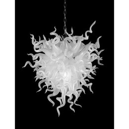 $enCountryForm.capitalKeyWord Australia - Longree White Elegant Fashion glass lamps for Party Holiday Wedding Decoration Style New Design Glass Chandelier