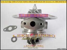 Turbocharger kia online shopping - TURBO Cartridge CHRA GT1752S S A101 A101 Turbocharger For KIA Sorento D4CB L CRDI