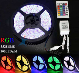 $enCountryForm.capitalKeyWord Canada - Waterproof IP65 5M 300 Leds SMD 5050 RGB lights led strips 60 leds M + remote controller + 12V 5A power supply with EU AU UK US SW plug