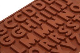 $enCountryForm.capitalKeyWord Canada - Hot sale Cake Ice Mould Chocolate Fondant Cookies Alphabet Letter Mold Silicone Free Shipping TY1711