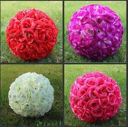 Silk wedding flower balls canada best selling silk wedding flower silk wedding flower balls canada 12 30cm artificial simulation encryption silk rose flower kissing mightylinksfo