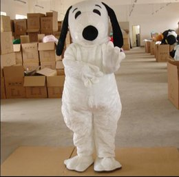 Snoopy coStumeS online shopping - 2016 High quality EPE Adult Size Snoopy Dog Mascot Costume Halloween Chirastmas Party Fancy Dress