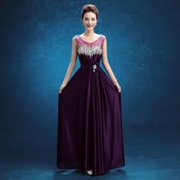 $enCountryForm.capitalKeyWord UK - Brand New Evening Dresses Sleeveless Princess Girls Women A Line Prom Party Pageant Graduation Formal Dress Gown