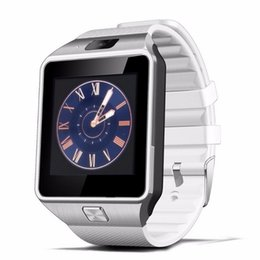 Bluetooth Smart Watch Sim Canada - DZ09 Smart Watches Phone Bluetooth Smartwatch GSM SIM Card Handsfree for Android IOS Smartphone iPhone 6 Plus Samusung Wholesale