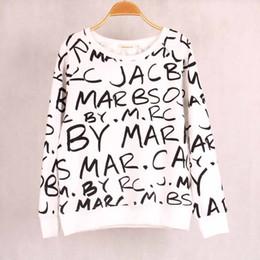 $enCountryForm.capitalKeyWord Canada - FG1509 Womens Hoodies Pullover Female Women Sport Suit Tracksuits Letter Graffiti JACBO Printed Sweatshirt Hoody Tops Outerwear