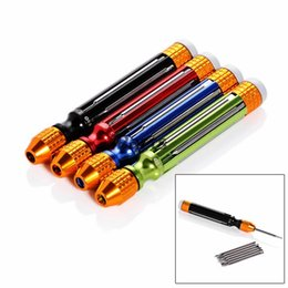 Discount precision electronics screwdrivers - 6 in 1 Professional Multi-Function Magnetic Precision Electronics Screwdriver Set for Mobile Phone Repair Opening Tools
