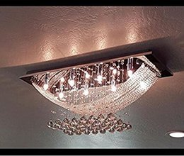 European Style Crystal Chandelier 170x50mm Metal Bowl Elbow Support Arm Tray Chandelier Decorative Lighting Accessories Lighting Accessories Lights & Lighting