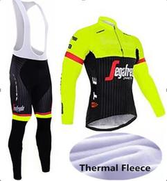 BreathaBle pants cycling online shopping - long sleeve TK Cycling jersey sets Spring Autumn Winter Fleece Men Pro bicycle bike jersey bib long pants gel pad