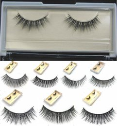 $enCountryForm.capitalKeyWord Canada - 2016 New Realistic Top Luxury Handmade Mink Hair Thick False Eyelashes Naturally Messy Cross- 8 Styles for choices 1 Pair
