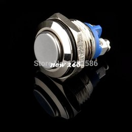 China 20pcs New 16mm 3A High flush Screw Termianls Stainless Steel Momentary Boat Auto Car Push Button Switch AC 250V suppliers