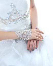 $enCountryForm.capitalKeyWord Canada - Free Shipping Wedding Bridal party prom Jewelry Crystal Rhinestone bracelet with ring wristband Bracelet Bridal Jewellery Sets