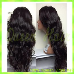 $enCountryForm.capitalKeyWord Canada - Grade 7A Body Wave Peruvian Virgin Hair Glueless Full Lace Human Hair Wig Natural Black Color Peruvian Lace Front Hair Wigs