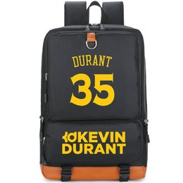 kd backpacks Canada - KD number 35 backpack Kevin Durant day daypack Basketball player schoolbag Casual rucksack Sport school bag Outdoor day pack