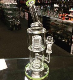 $enCountryForm.capitalKeyWord Canada - Cheap Glass Water Bong Smoking Pipe With Honeycomb Percolator And Stainless Steel Tool Glass Water Pipes For Smoking for Oil Rig
