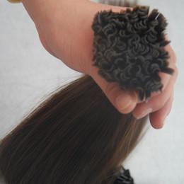 $enCountryForm.capitalKeyWord Canada - 16inch 18inch 20inch 22inch 26inch Italian Keratin glue nail tip U-shaped Human Remy hair 50g #2 Darkest Brown 1.0g strands