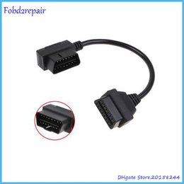 Nissan Obd Cable NZ - Fobd2repair OBD II 16Pin Extension Cable ELM327 OBD2 16Pin Male to Female Extension Cable OBD 2 Diagnostic Extender 100cm Store: 20158244