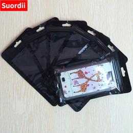 $enCountryForm.capitalKeyWord NZ - 200pcs Accept DIY OPP Package Bags For iphone 5 5s 6 6s 7 8 Zipper Lock Packing Bag Retail Plastic Black packaging Bag
