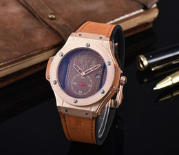 Wholesale soport watch Relogio Masculino Fashion Analog Display Orologio Uomo Quartz Watch Curren Male Watch Leather Watch Men
