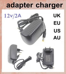 Chinese  ac dc Electronics usb charger adapter 2A 12 volt battery charger power supply for 5050 3528 led strips light dhl free shipping DY001 manufacturers