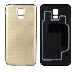 Replacement phone housing online shopping - S5 Original Battery Door Back Housing Cover Replacement Case Fundas for Samsung Galaxy S5 i9600 Phone Bag Ultra Slim Thin Coque with logo