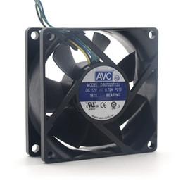 avc fan cpu 2019 - AVC DS07025T12U 70mm 7025 DC 12V 0.7A 4 -pin PWM cpu pc case cooling fan