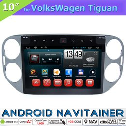 Discount vw tiguan bluetooth - 10 Inch Touch Screen Car Navigation 2 Din Car Dvd for VW Tiguan with MP3 Mp4 Player RDS Radio Bluetooth Quad Core