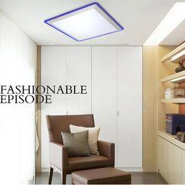 Wholesale Led 24w Arcrylic Ceiling Light Lamp Living Room Modern Restaurant Bathroom Reflex Colorful Border Lighting 3535