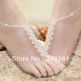 $enCountryForm.capitalKeyWord Canada - ree shipping! 20pair lot FG-130 Hot sale Anklet,Beach barefoot sandals,wedding barefoot sandals,beach foot jewelry wholesale jewelry moon...