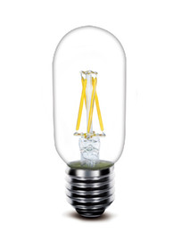 Chinese  2017 New led filament bulb T45 2w 4W 110lm w directly factory wholesale low price high quality led fialment lamp manufacturers