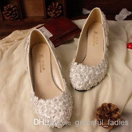 3f7e8d174 Beaded Flat Wedding Sandals Canada - 2016 Handmade Wedding Shoes Lace Pearl  Beaded Red Bridal Shoes