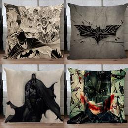 $enCountryForm.capitalKeyWord Canada - Batman pillow cover, creative superhero Justice League batman comic cartoon bat throw pillow case pillowcase wholesale