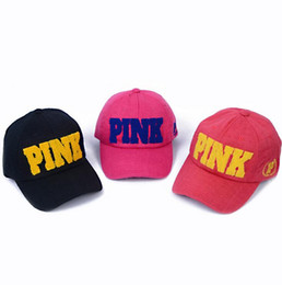 104ac792ffe Hot Baseball Caps VS Fashion Sport Women Men Summer Spring Cotton Caps Youth  PINK Letters Breathable Hats