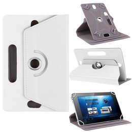 $enCountryForm.capitalKeyWord NZ - 360 Degree Rotating Case PU Leather Stand Cover Universal Tablet Cases 7 8 9 10 inch Built-in Card Buckle for Mini iPad Air 2 Samsung Tab 3
