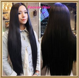 $enCountryForm.capitalKeyWord Canada - FREE shipping 1#,1b,2#,4#,Natural Color 8A Grade Peruvian Virgin Hair Silky Straight Full Lace wig Front Lace Wig with baby hair