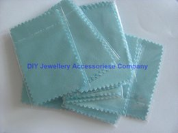 Wholesale 200pcs cm Silver Polish Cloth for silver Golden Jewelry Cleaner Blue Pink Green colors option Best Quality