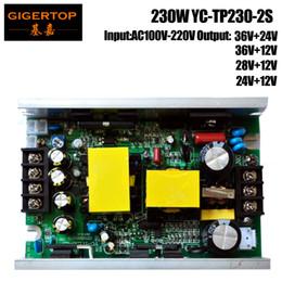 Venta al por mayor de TIPTOP 230W 7R Sharpy Beam Luz de cabeza móvil / 5R 200W Cabeza móvil Punto de luz Fuente de alimentación 12V / 24V / 28V / 36V Voltaje de salida DHL Enviar