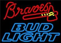 Discount bud light neon - BUD LIGHT Neon Sign Real Glass Tube Bar CLUB Store Business Advertising Home Decoration Art Gift Display Metal Frame Siz