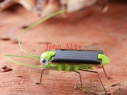 $enCountryForm.capitalKeyWord Canada - Wholesale Popular Solar Power Toy Energy Crazy Grasshopper Cricket Kit christmas gift Toy Great toy or kids Creative toy Free Shipping