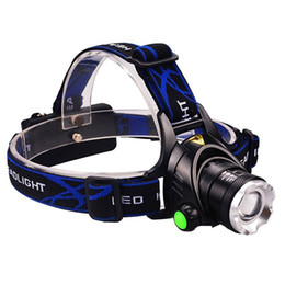 Cree head hunting lights online shopping - 3000LM Cree XM L T6 Led Headlamp Zoomable Headlight Waterproof Head Torch flashlight Head lamp Fishing Hunting Light