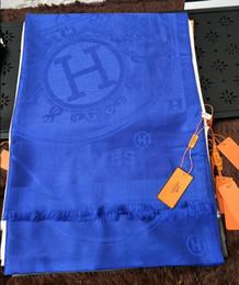 Cotton Viscose Scarves Australia - zhu H Check Wool Cotton Cashmere Silk Scarves Scarf Wrap Shawl SHINE SCARF