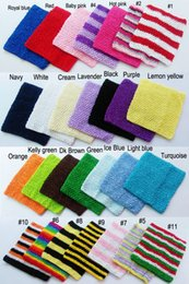 $enCountryForm.capitalKeyWord Canada - 7.5x9inch Crochet Tutu Tube Tops Cute Color Baby Tube Top Chest Warp High Quality Crochet Tube Tops for Toddlers New Arrival CT0709